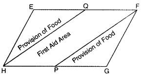 Areas of Parallelograms and Triangles Class 9 Extra Questions Maths Chapter 9 with Solutions Answers 29
