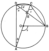 Circles Class 9 Extra Questions Maths Chapter 10 with Solutions Answers 22