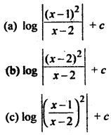 MCQ Questions for Class 12 Maths Chapter 7 Integrals with Answers