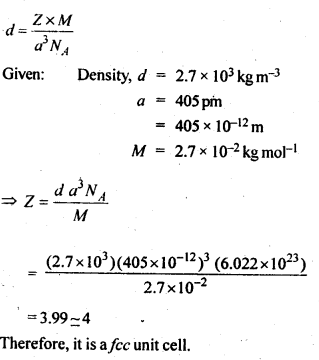 NCERT Solutions For Class 12 Chemistry Chapter 1 The Solid State 2