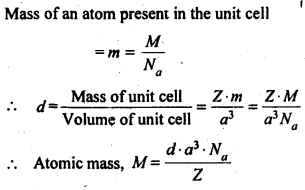 NCERT Solutions For Class 12 Chemistry Chapter 1 The Solid State 3