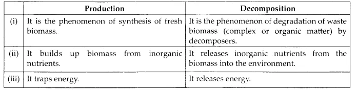 NCERT Solutions for Class 12 Biology Chapter 14 Ecosystem 6.4