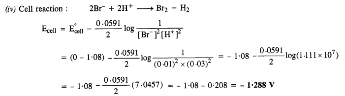 NCERT Solutions for Class 12 Chemistry Chapter 3 Electrochemistry 12