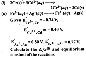NCERT Solutions for Class 12 Chemistry Chapter 3 Electrochemistry 9