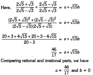 Number Systems Class 9 Extra Questions Maths Chapter 1 with Solutions Answers 24