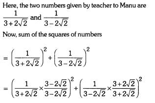 Number Systems Class 9 Extra Questions Maths Chapter 1 with Solutions Answers 31