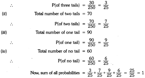 Probability Class 9 Extra Questions Maths Chapter 15 with Solutions Answers 9