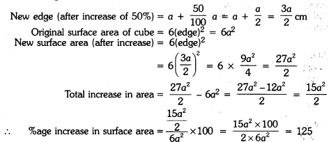 Surface Areas and Volumes Class 9 Extra Questions Maths Chapter 13 with Solutions Answers 14