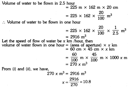 Surface Areas and Volumes Class 9 Extra Questions Maths Chapter 13 with Solutions Answers 15