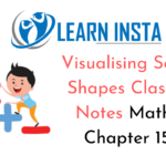 Visualising Solid Shapes Class 7 Notes