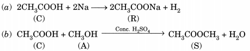 Carbon and its Compounds Class 10 Extra Questions with Answers Science Chapter 4, 40