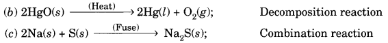 Chemical Reactions and Equations Class 10 Extra Questions with Answers Science Chapter 1, 15