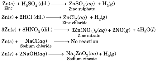 Chemical Reactions and Equations Class 10 Extra Questions with Answers Science Chapter 1, 25