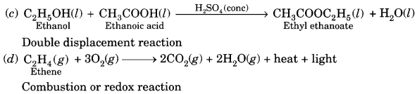 Chemical Reactions and Equations Class 10 Extra Questions with Answers Science Chapter 1, 8