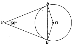 MCQ Questions for Class 10 Maths Chapter 10 Circles with Answers 5