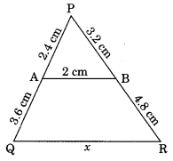 MCQ Questions for Class 10 Maths Chapter 6 Triangles with Answers 2