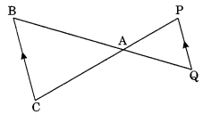 MCQ Questions for Class 10 Maths Chapter 6 Triangles with Answers 6