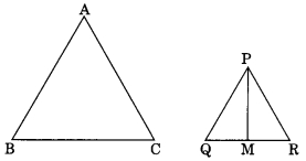 MCQ Questions for Class 10 Maths Chapter 6 Triangles with Answers 7