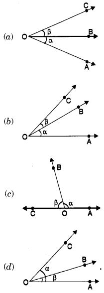 MCQ Questions for Class 7 Maths Chapter 5 Lines and Angles with Answers 12
