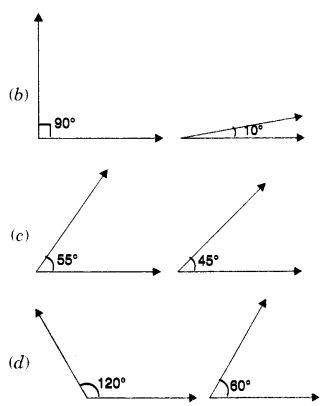 MCQ Questions for Class 7 Maths Chapter 5 Lines and Angles with Answers 2