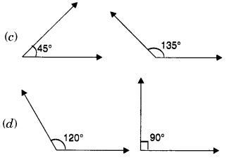 MCQ Questions for Class 7 Maths Chapter 5 Lines and Angles with Answers 4
