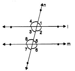 MCQ Questions for Class 7 Maths Chapter 5 Lines and Angles with Answers 9