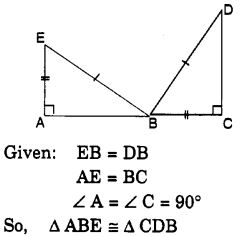 MCQ Questions for Class 7 Maths Chapter 7 Congruence of Triangles with Answers 4