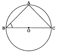 MCQ Questions for Class 9 Maths Chapter 10 Circles with Answers 1