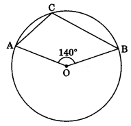 MCQ Questions for Class 9 Maths Chapter 10 Circles with Answers 16
