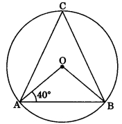 MCQ Questions for Class 9 Maths Chapter 10 Circles with Answers 2