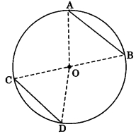 MCQ Questions for Class 9 Maths Chapter 10 Circles with Answers 3