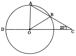 MCQ Questions for Class 9 Maths Chapter 10 Circles with Answers 5