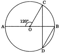 MCQ Questions for Class 9 Maths Chapter 10 Circles with Answers 9