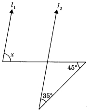 MCQ Questions for Class 9 Maths Chapter 6 Lines and Angles with Answers 5