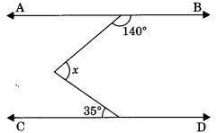 MCQ Questions for Class 9 Maths Chapter 6 Lines and Angles with Answers 7