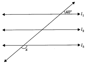MCQ Questions for Class 9 Maths Chapter 6 Lines and Angles with Answers 9