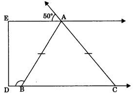 MCQ Questions for Class 9 Maths Chapter 7 Triangles with Answers 2