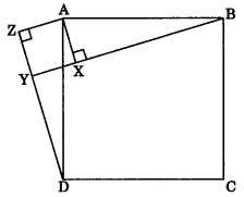 MCQ Questions for Class 9 Maths Chapter 7 Triangles with Answers 3