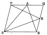 MCQ Questions for Class 9 Maths Chapter 9 Areas of Parallelograms and Triangles with Answers 1