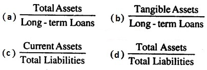 MCQ Questions for Class 12 Accountancy Chapter 10 Accounting Ratios with Answers 2