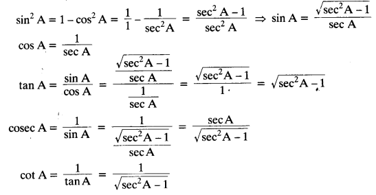 NCERT Solutions for Class 10 Maths Chapter 8 Introduction to Trigonometry Ex 8.4 2