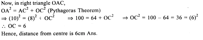RS Aggarwal Class 9 Solutions Chapter 11 CircleEx 11A Q1.2