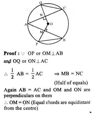 RS Aggarwal Class 9 Solutions Chapter 11 CircleEx 11A Q17.1