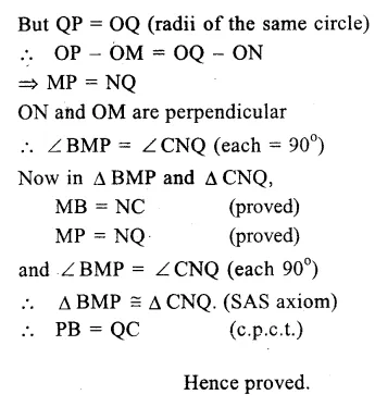 RS Aggarwal Class 9 Solutions Chapter 11 CircleEx 11A Q17.2
