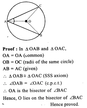 RS Aggarwal Class 9 Solutions Chapter 11 CircleEx 11A Q20.2