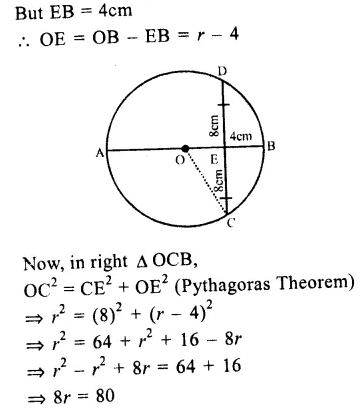 RS Aggarwal Class 9 Solutions Chapter 11 CircleEx 11A Q7.1