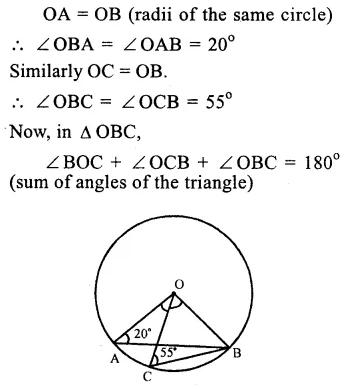 RS Aggarwal Class 9 Solutions Chapter 11 CircleEx 11B Q12.1
