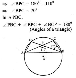 RS Aggarwal Class 9 Solutions Chapter 11 CircleEx 11B Q3.1