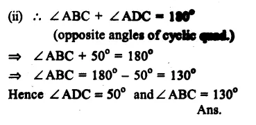 RS Aggarwal Class 9 Solutions Chapter 11 CircleEx 11C Q7.2