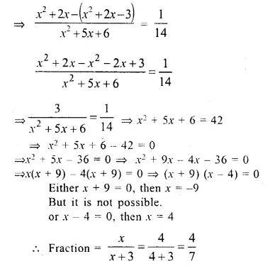 Selina Concise Mathematics Class 10 ICSE Solutions Chapter 6 Solving Problems Ex 6E Q13.2